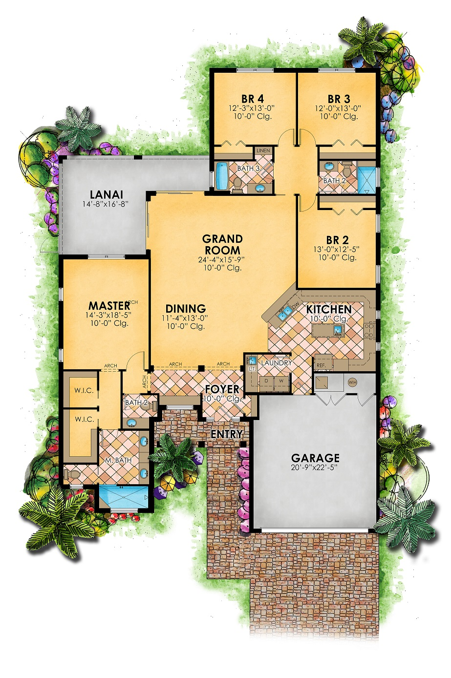 Cambridge Floor Plan 3