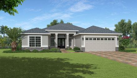 pg_floorplans_enclave_Davenport Elevation