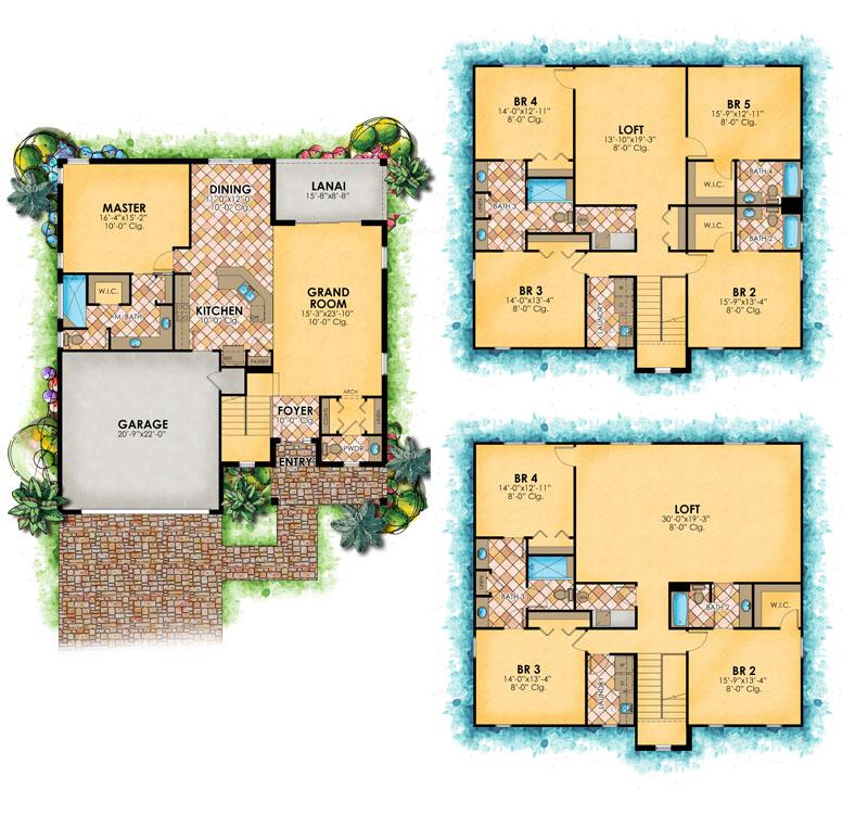 pg_floorplans_enclave_map_Kingston Floor Plan Art 061015