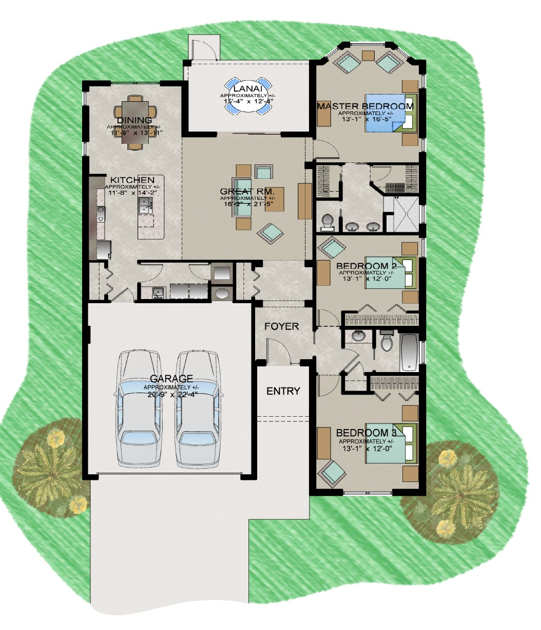 Flamingo Floor Plan